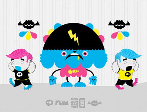 cmyk-monster