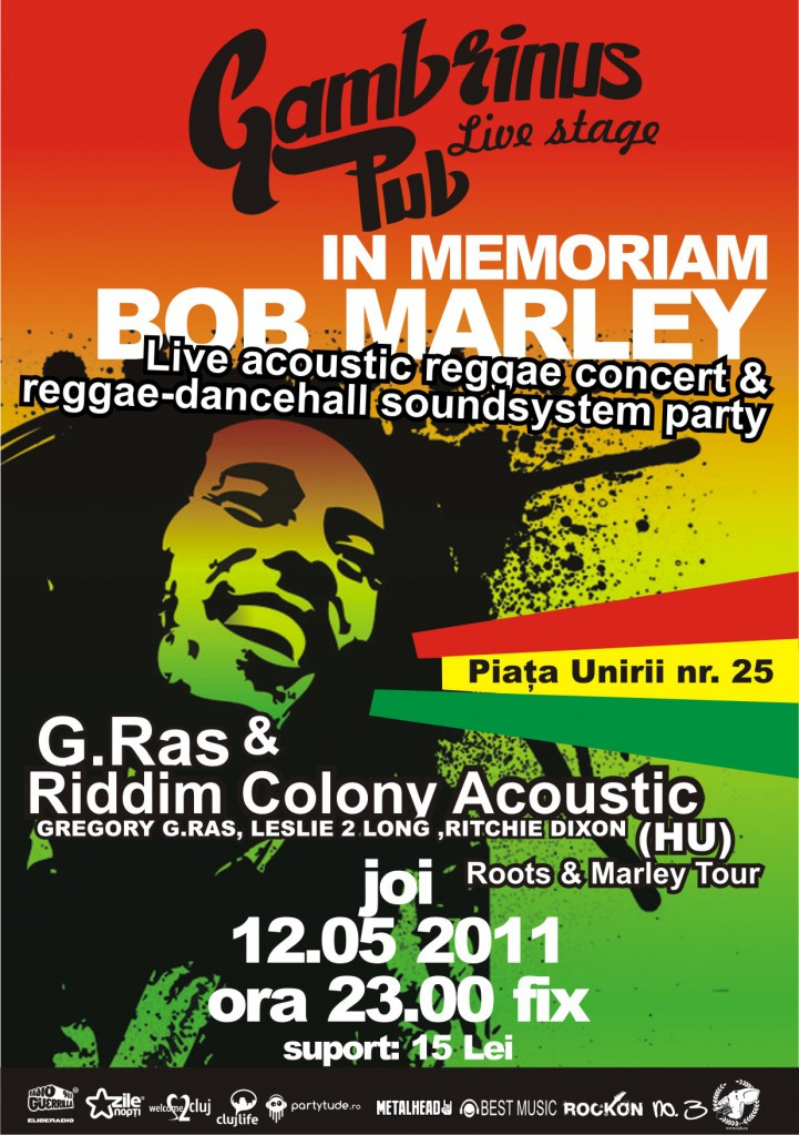 Afis concert in memoriam Bob Marley
