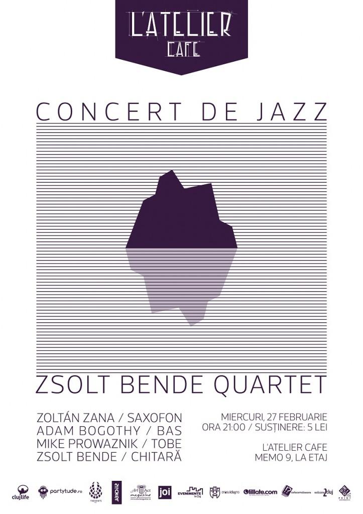 Afis Zsolt Bende Quartet 2