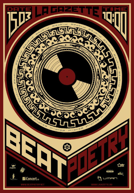 poster_eveniment_LA_GAZETTE_Prezintă_BEAT_POETRY_-_Taking _over_Cluj_15_03