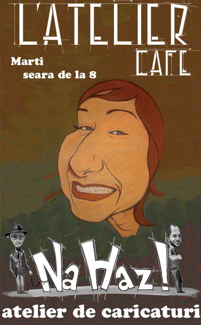 Atelier de caricaturi cu Na Haz!