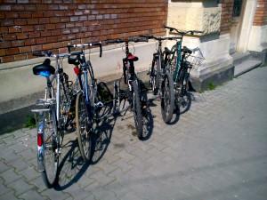 suport bicicletă BCU