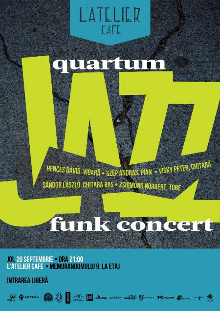 Quartum Jazz Funk Concert - web