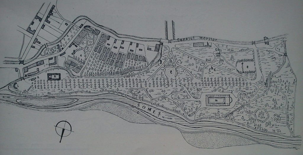fig 29 Cluj plan parc 1850-1860