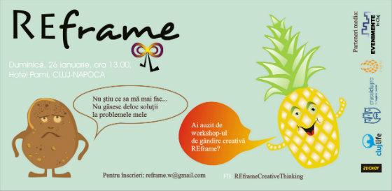 flyer REframe, 26 ianuarie, Cluj
