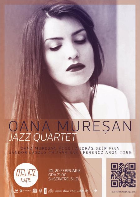 Oana Muresan Jazz Quartet - web