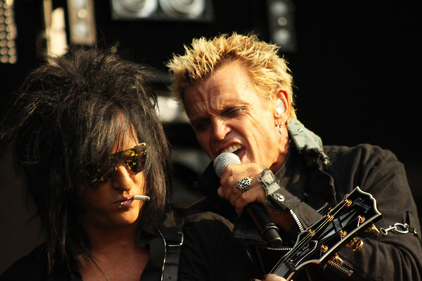Steve Stevens and Billy Idol