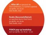 PUNCH pop-up bookshop @ Fabrica de Pensule