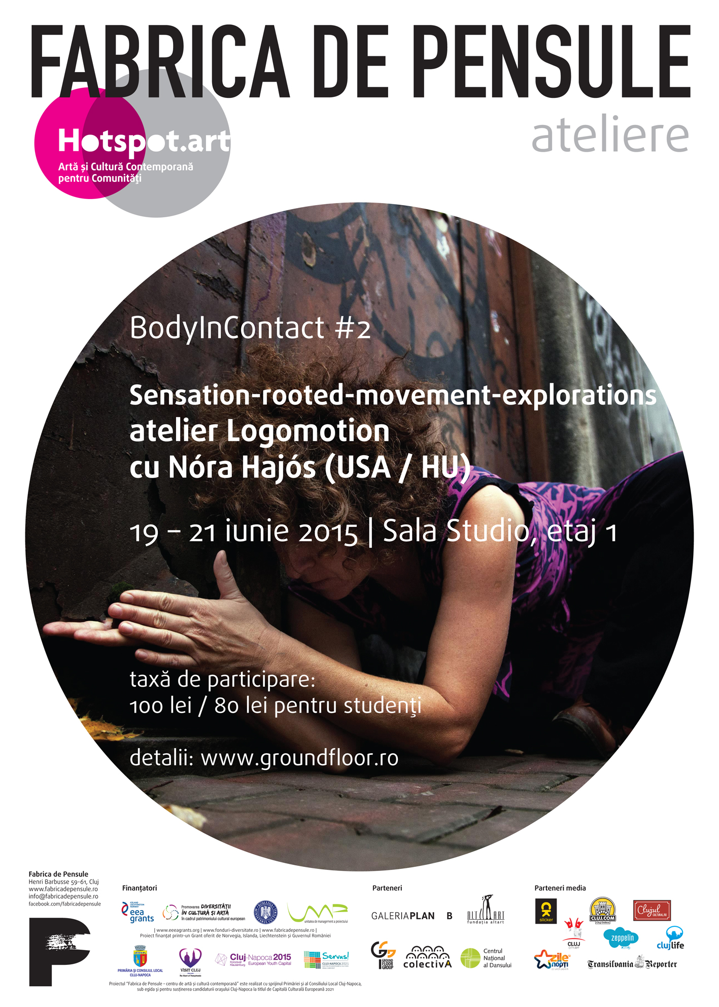Hotspot poster 500x700 2015-06 Ateliere BodyInContact #2
