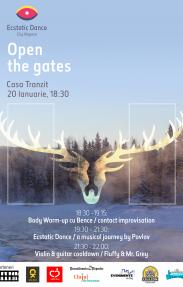 Open the gates@Ecstatic Dance II