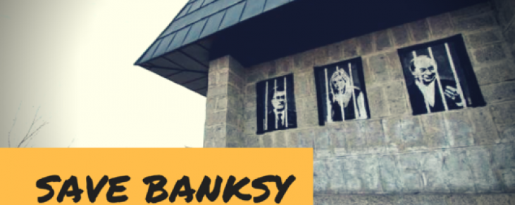 Petiție: SALVAȚI-L PE BANKSY ASTĂZI!